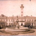 Міський бульвар та Міська управа м.Єлісаветграда. Фото початку ХХ століття.