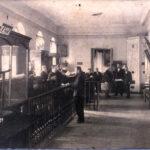 """м.Єлисаветград, внутрішній вигляд """"Русского Банка"""". Фото початку ХХ століття."""