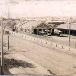 Трамвайне депо. Вигляд м.Єлисаветграда з вулиці Велика Пермська. Фото початку ХХ століття.