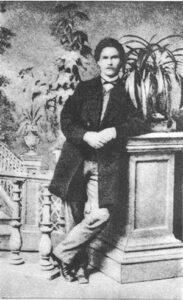 І. Карпенко-Карий. Фото 1867 р. Єлисаветград.