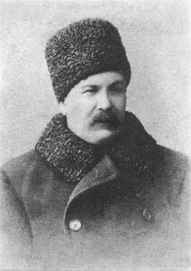 І. Карпенко-Карий. Фото 1896 р. Кишинів.