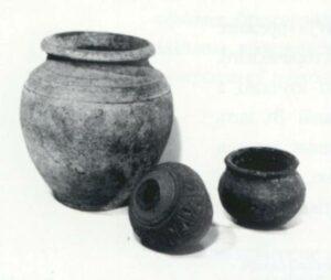 Посуд черняхівської культури. II-IV ст. A.D. Кераміка.
