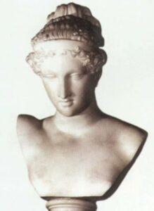 Голова жінки. XIX ст. Мармур.