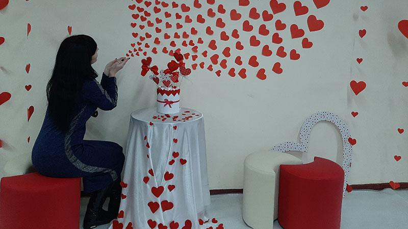 До Дня Святого Валентина!