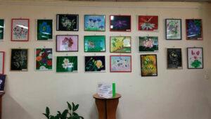 Відкрилась персональна виставка робіт Галини Маслової «Гармонія квітів та кольорів»