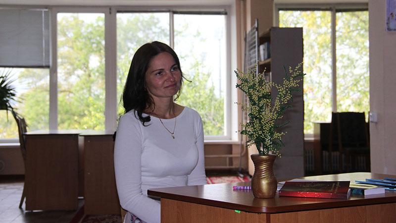 Блог-кафе з молодою поетесою Ольгою Могильдою